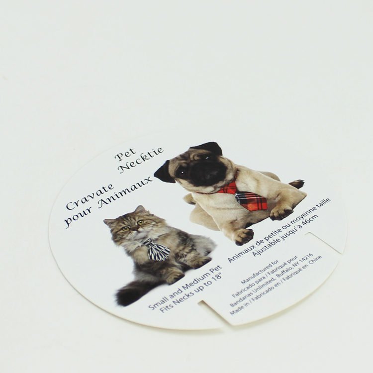 Yilucai Custom Pet Necklace Card Factory China Pet Necklace