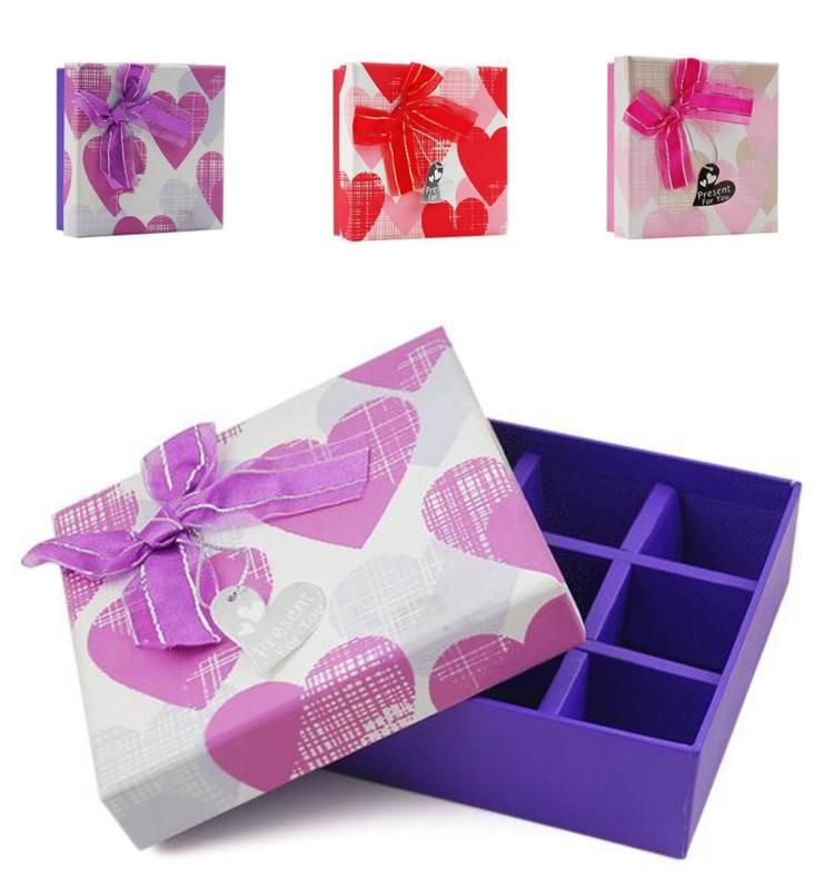 Yilucai 9 Pack Chocolate Box Factory Chocolalte Box Manufacturer Supplier