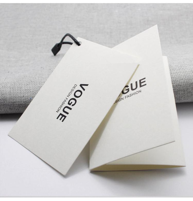Yilucai Garment Hang Tag Manufacturer Paper Hang Tag Factory