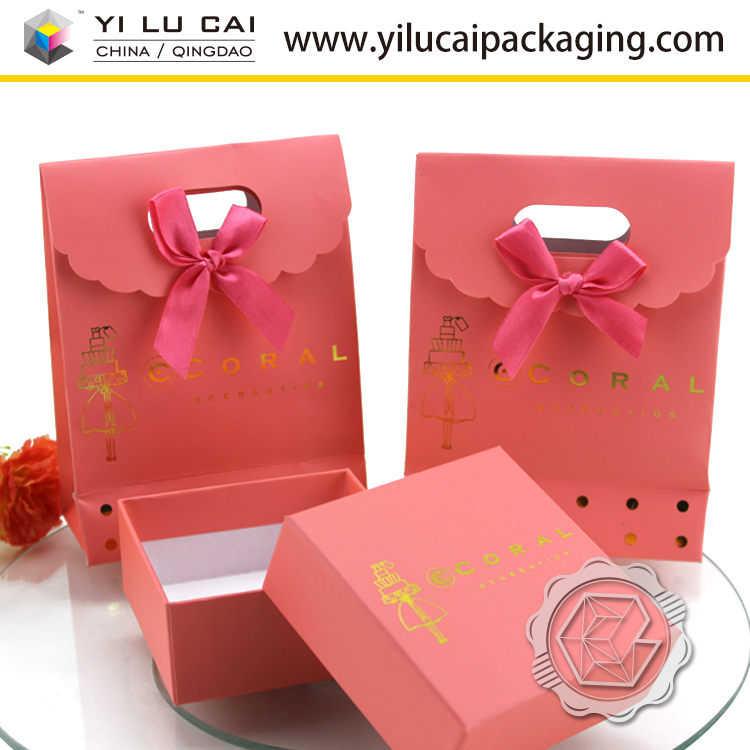 Yilucai Paper Jewelry Box Manufacturer Paper Jewelry Gift Boxes